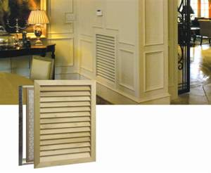 Upgrade Your Return Vents Into Something That Blends Decor And Looks Elegant